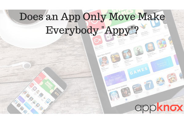 does an app only