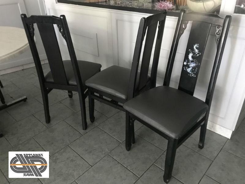lot 40 chaises de restaurant chinois