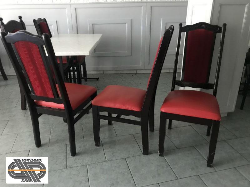 lot 12 chaises de restaurant asiatique