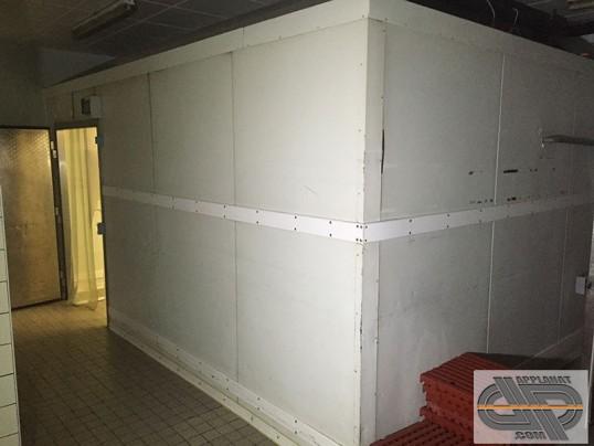 Chambre froide positive 5m00 x 3m60  40 m3  groupe  distance occasion  VENDU