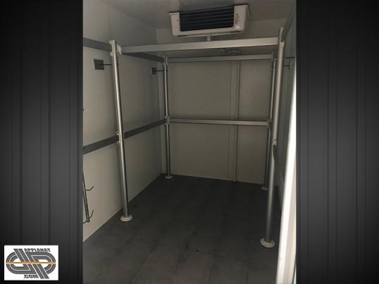 Chambre froide positive de boucherie 14 m3  moteur neuf  portique boucherie occasion  5 980