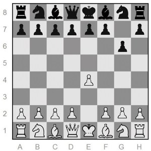 first move on both sides - chess opening