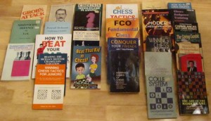 twenty-eight chess books