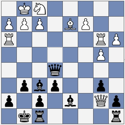 Black to move in this amateur chess club game
