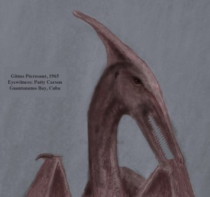 ropen-pterosaur - Patty Carson drew this sketch