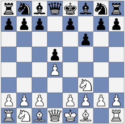 Black made an unusual move: f6