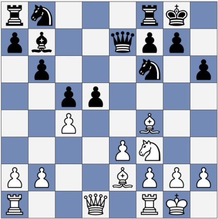Black should now move Rd8