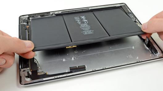 reparatii ipad 4 baterie