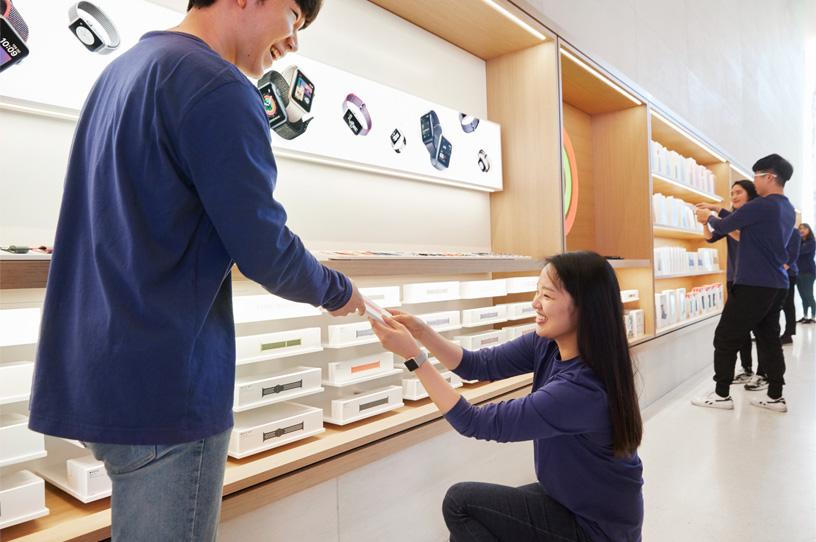 Apple 首家韓國零售店將于星期六盛大開幕 - Apple (中國)