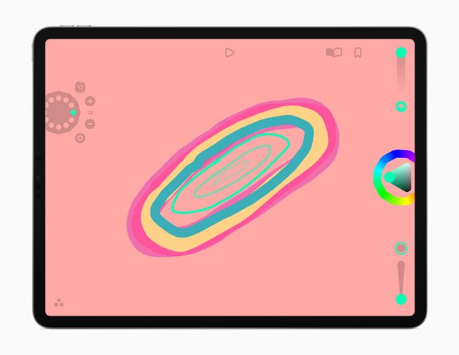 The Looom app displayed on iPad Pro.