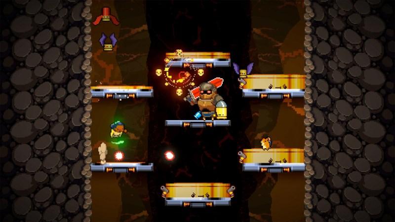 """""""Exit the Gungeon"""" de Devolver para Apple Arcade."""