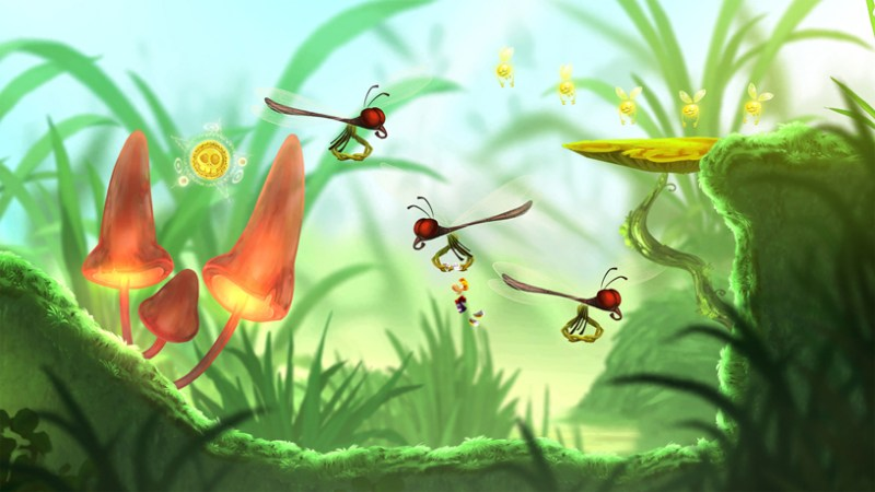 """Rayman Mini"" de Ubisoft en Apple Arcade."