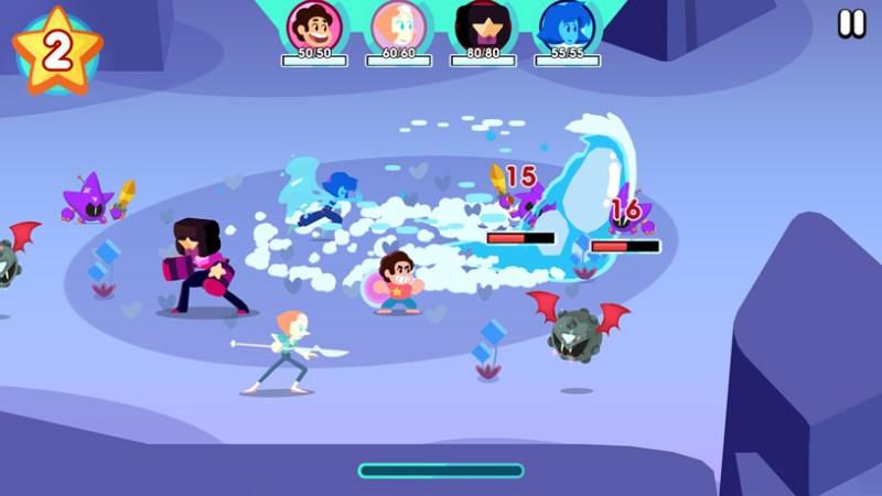 """Steven Universe: Unleash the Light"" de Cartoon Network en Apple Arcade."