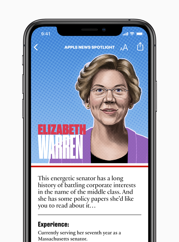 apple news launches candidate