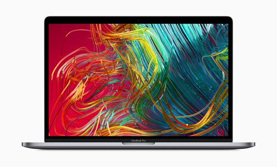 MacBook Pro display.