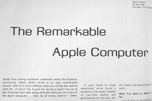 The Apple 1 computer