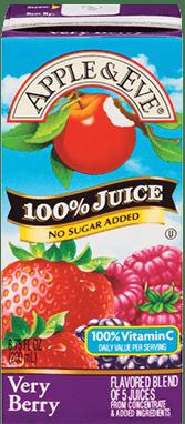 Apple Eve 100Juice Juice Box Family Size