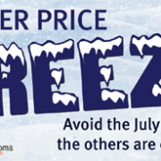 childcare price freeze - Our Winter Price Freeze