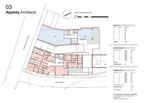 Level 2 proposed floor plan