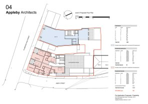 Level 3 proposed floor plan
