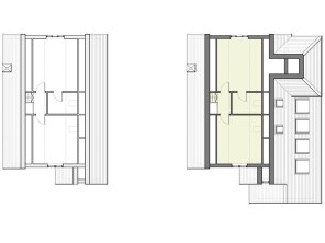 Existing & proposed third floor