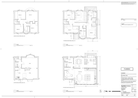 Existing & proposed plan