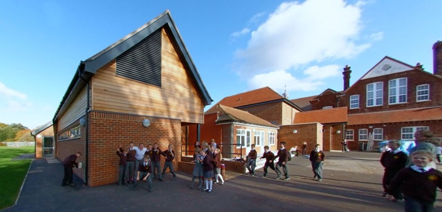 New building & playground
