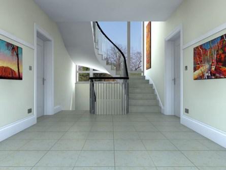 Interior & Stairway