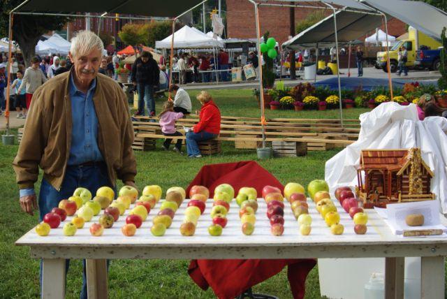 brushy mountain apple festival nc apples