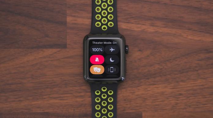 Apple-Tiyatro-Modu-watchOS