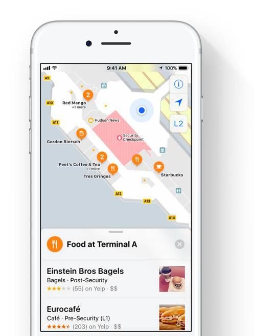 iOS 11 Harita