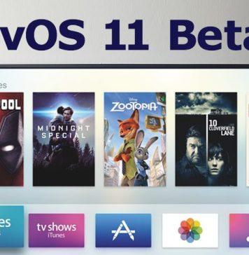 tvOS 11 Beta