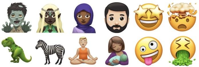 iOS 11 Emojileri