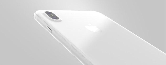 Seramik Kaplama Beyaz iPhone 8