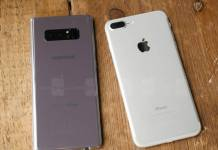 iPhone 8 Plus ve Galaxy Note 8