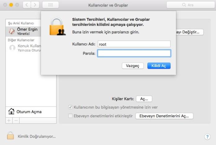 Mac Root