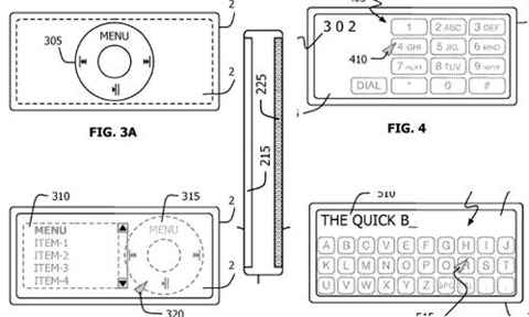 Patent Filing: iPod/iPhone Nano w/