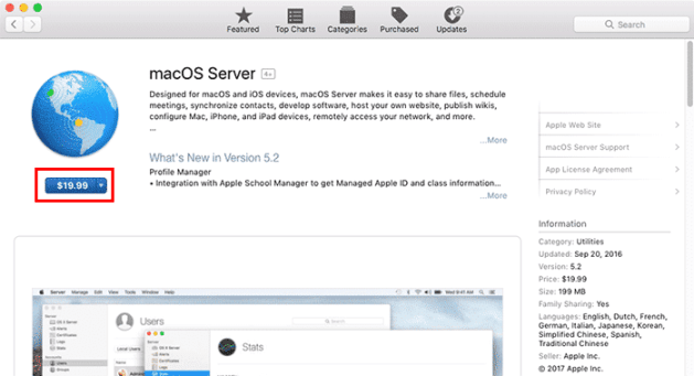macos server download
