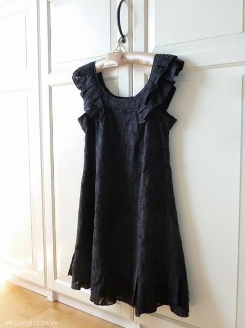 A-line dress redo