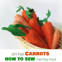 felt carrots free pattern