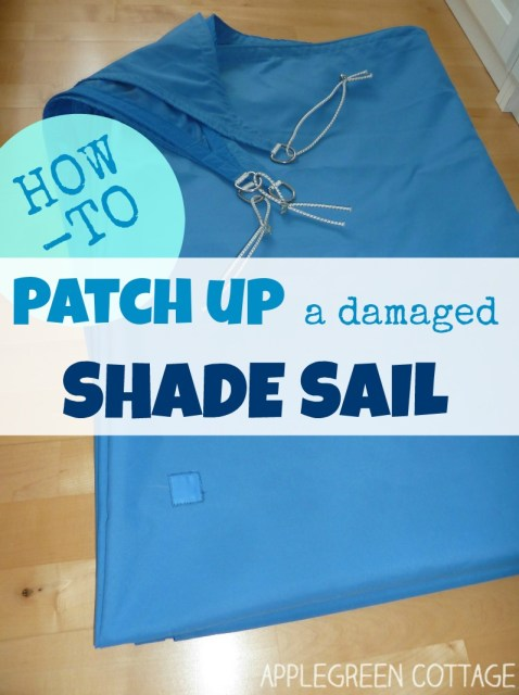 shade sail repair tutorial free
