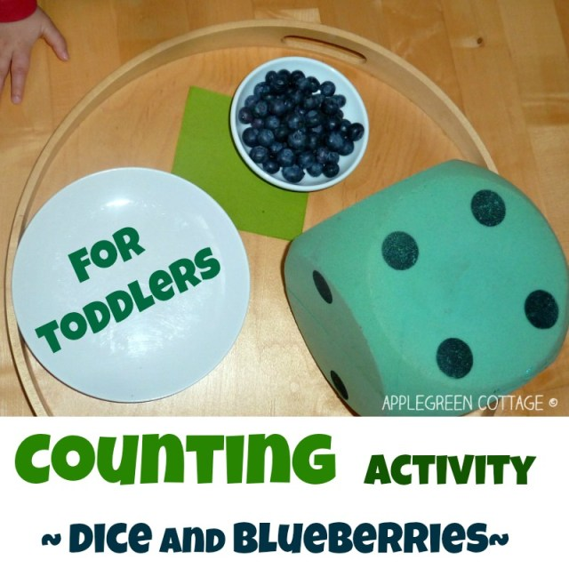 http://www.applegreencottage.com/2015/04/learning-games-for-toddlers-dice-counting.html