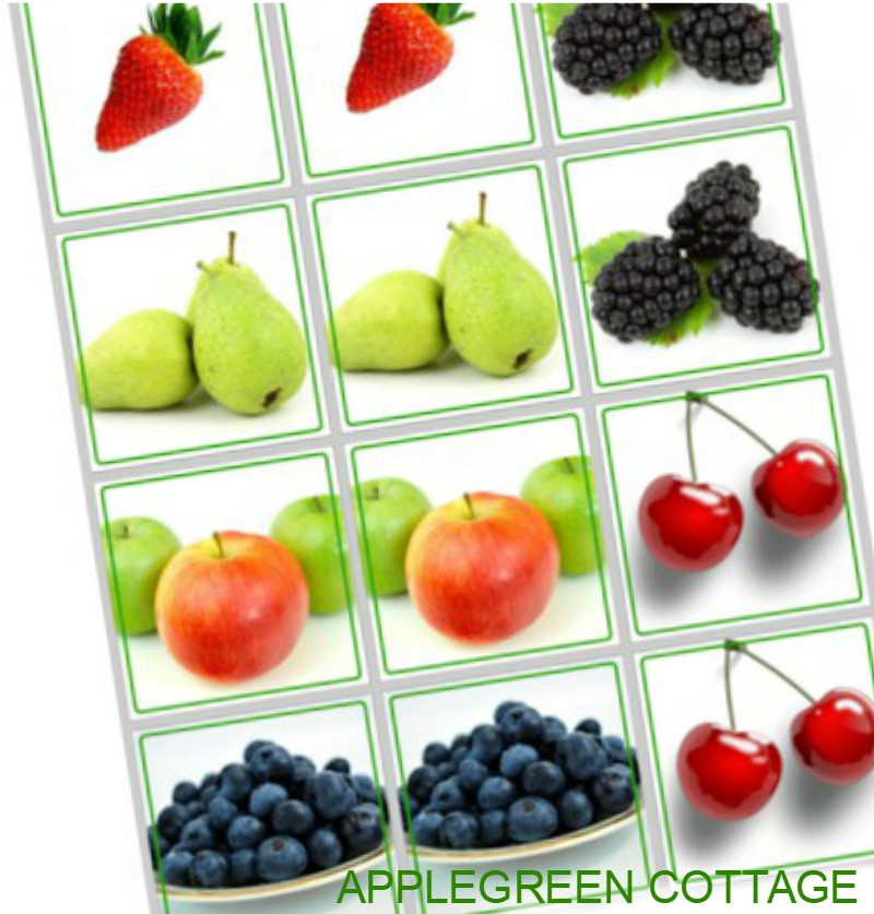 Fruit Printables – Free Printables Series