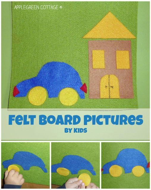 Felt board pictures