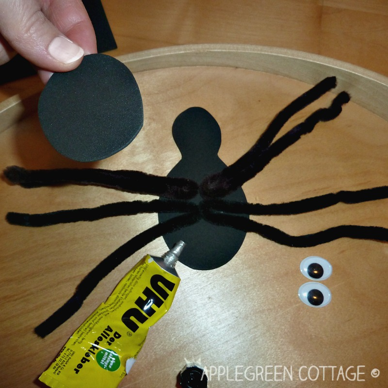diy craft foam spider