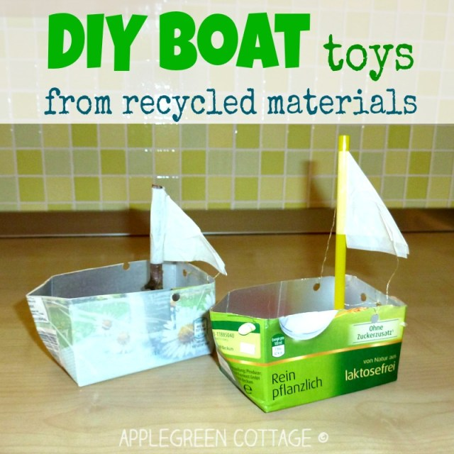boat crafts for kids - summer kids activities