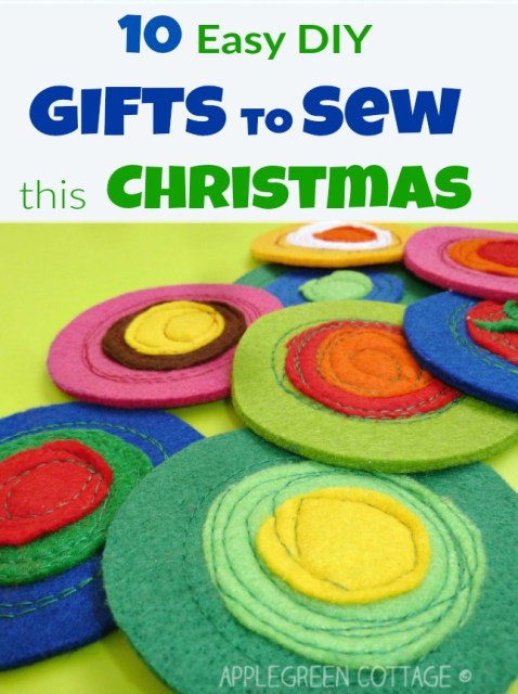 10 Easy DIY Gifts to Sew {This Christmas}
