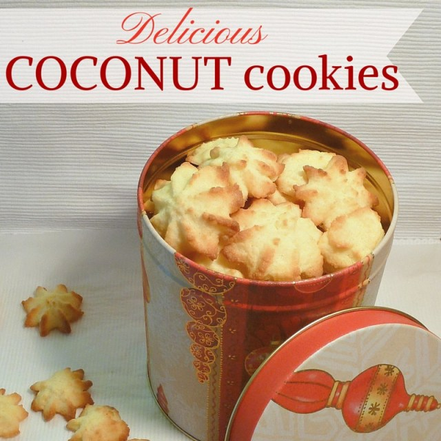 easy coconut cookies for christmas
