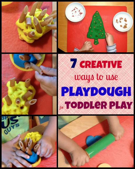 7 creative ways to use playdough