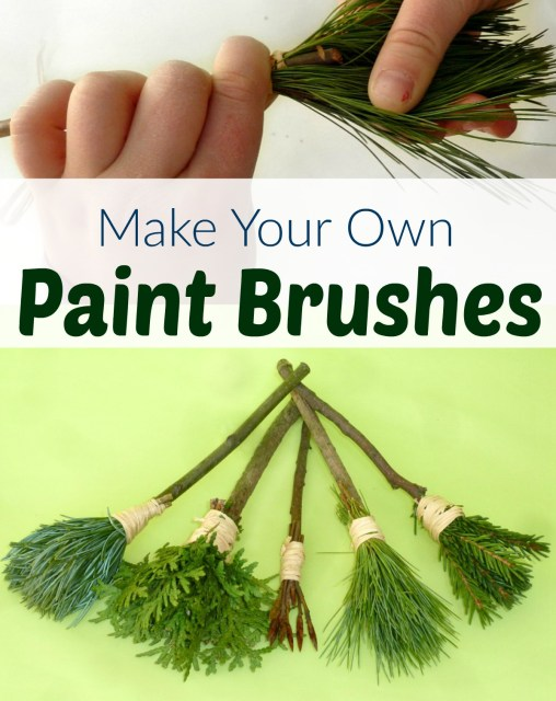 nature paint brushes